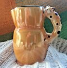 Vintage Lustre Luster Ware Cat Pitcher Made in Slovakia