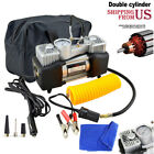 12V Heavy Duty Portable Air Compressor Car Tyre Auto Tire Inflator Pump 150PSI
