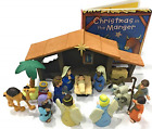 Nativity Playset for Children 19 Pieces by BibleToys Bundle Includes Christmas