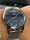 Breitling Transocean Stainless Blue Dial Limited No reserve