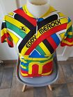 Girodana Eddy Merck 1989 Retro Team Cycling Jersey Made in Italy Cotton Blend
