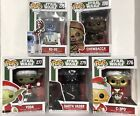 Funko Vinyl POP Star Wars Holiday Christmas Complete Set Brand New