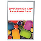 Modern Silver Aluminum Photo Poster Frame Wall Mounted Home Decor Gift A1 A2 A3