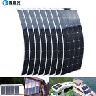 800w Monocrystalline Solar Panel 8100w 16v Battery Charger Home Motorhome Yacht