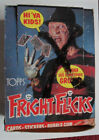 1988 Topps FRIGHT FLICKS Horror Movie Trading Cards EMPTY Display Box FREDDY