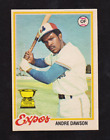 Andre Dawson Cards, Rookie Card and Autographed Memorabilia Guide 14