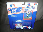 1-1988 Kenner Starting Lineup Statue, Factory sealed, Vince Coleman, Cards.