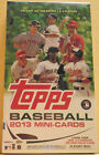 2013 Topps Baseball Mini Cards Sealed Exclusive Hobby Box 1 Auto or Relic Box