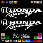 (2x) Honda Racing decal 9