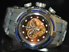 Invicta Men's Rare Bolt Swiss Reserve Chrono Brown MOP Dial Grey Poly Watch 0830
