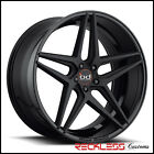 20 BLAQUE DIAMOND BD8 CONCAVE WHEELS RIMS BLACK FITS D4 AUDI A8