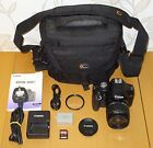 Canon EOS 500D 15.1MP Digital SLR  Kit EF-S 18-55mm IS + 8 gb memory + Bag