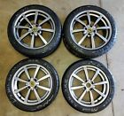LOTUS ELISE ALLOY SILVER WHEELS AND TIRES SET OF 4