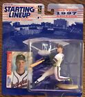 NEW Sealed Chipper Jones 10th Year 1997 Edition Starting Lineup w/ Baseball Card