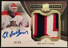 2014-15 UD The Cup Ed Belfour Limited Logos Patch Auto 20 50 Jersey # Ebay 1 1?