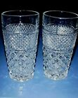 WEXFORD Glass TALL 15 oz Beverage, Mint Julep, Iced Tea, Water Tumblers Set of 2