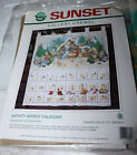 Vintage Sunset NATIVITY ADVENT CALENDAR  18000 by Ruth Morehead Started