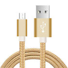 1m Fast gold Micro USB Charging Cable Android Mobile Cell Phone Data Sync D