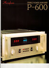 Accuphase Prospekt Stereo Power Amplifier P - 600