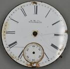 Waltham 13j 6s Pocket Watch Movement For Parts Or Repair