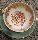 Vintage Aynsley England Bone China Floral Tea Cup  Saucer 2960