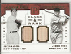Jimmie Foxx Baseball Cards and Autographed Memorabilia Buying Guide 14