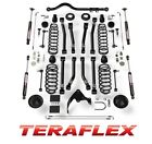 TeraFlex 4 Lift Kit w Alpine Controls Arms For 07 18 Jeep Wrangler JK 4 Door