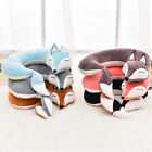 Cute Stuffed U Shape Neck Pillow Travel Car Anime Plush doll Fox Animal