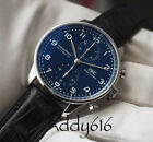 IWC Pilot 150th Special Edition Chronograph IW371601 PORTUGIESER BLUE