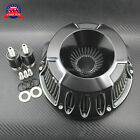 Gloss Black Air Cleaner Intake Filter Fit For Harley Touring 1993 07 Dyna 93 17