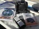 Canon EOS Rebel T2i 550D 18mp DSLR Camera body only with battery grip