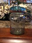Vintage Atlas Mason Jar With Lid
