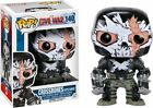 Funko Pop Marvel: Crossbones Battle Damage Exclusive Vinyl Figure