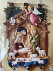 Bucilla Nativity Manger Felt Christmas Wall Hanging Kit 85331 Brand New 2014