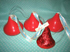 Lot Merry Kissmas Hershey Kisses Xmas Tree Ornaments 2.5