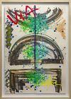 Dale Chihuly V&A Chandelier Lithograph Print Original Hand Colored Detail Signed