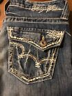 Buckle Big Star Vintage Collection Maddie Boot Cut Blue Jeans Womens Size 29R