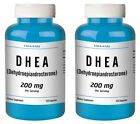DHEA 200mg 240 Capsules TWO BOTTLES New Sealed Bottle FREE USA SHIPPING