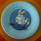 FIESTA LOONEY TOONS BUGS BUNNY DINNER PLATE PERIWINKLE BLUE COLOR UNUSED RETIRE