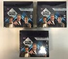Lot of 3 2005 Topps Doctor Who Factory Sealed Hobby Box Boxes (A)