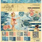 Graphic45 SUN KISSED COLLECTION PACK 12 x 12 Scrapbooking PAPER + STICKER SHEET