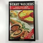 Vintage WW Weight Watchers Quick Start Plus Program Cookbook Book Recipes 1986