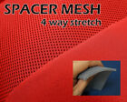 SPACER MESH FABRIC NYLON SPANDEX 60 WIDE STRETCH 5 YARDS 5 COLORS