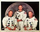 Unframed NASA Color Photo Of Prime Crew Of Fifth Manned Apollo 11 Mission