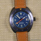 ROAMER ROCKSHELL GALAPAGOS 1970s 42MM BLUE Cal MST 522 RARE VINTAGE DIVER AUTO