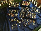 Huge Lot Over 100 Pcs Brooches Antique To Modern