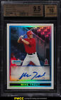 2009 Bowman Chrome Refractor Mike Trout ROOKIE RC AUTO 500 BGS 9.5 GEM (PWCC)