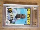 1986 Topps Traded Barry Bonds Pirates #11T bgs 9.5 gem mint