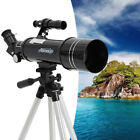 40070 Refractor Astronomical Telescope With Tripod For Beginners 400x70mm TOP US