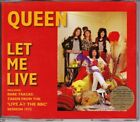 Queen -Pic CD - Let Me Live - 1995 Parlophone ( Includes tracks Live at the BBC)